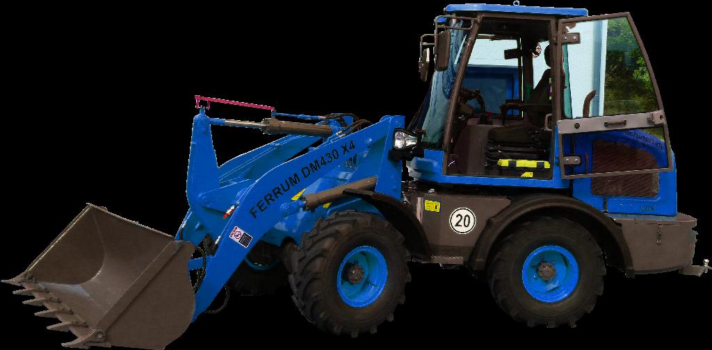 FERRUm DM430 x4 in Blau