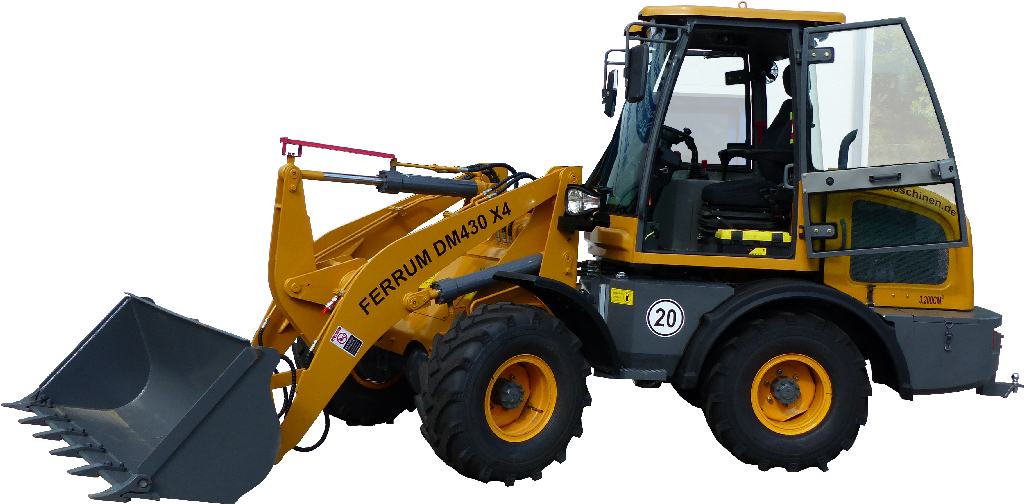 FERRUm DM430 x4 in gelb