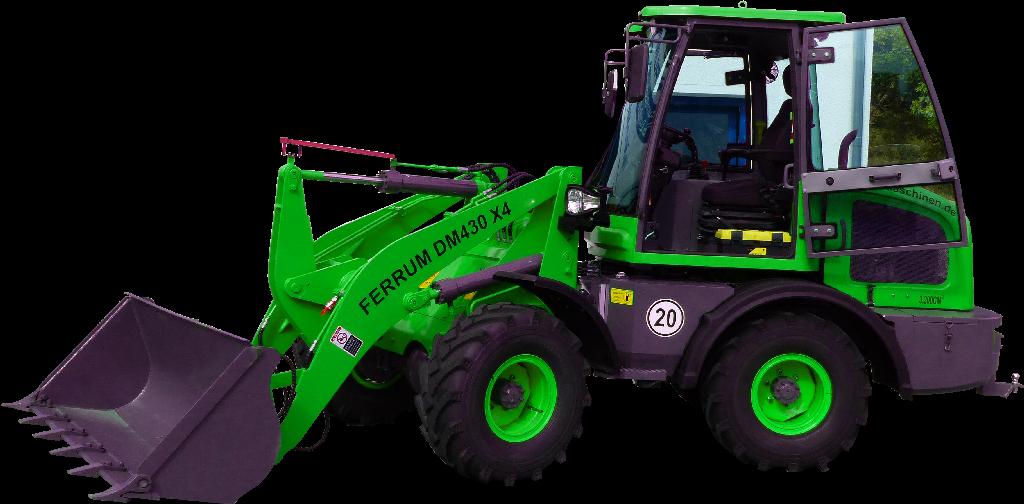 FERRUm DM430 x4 in grün