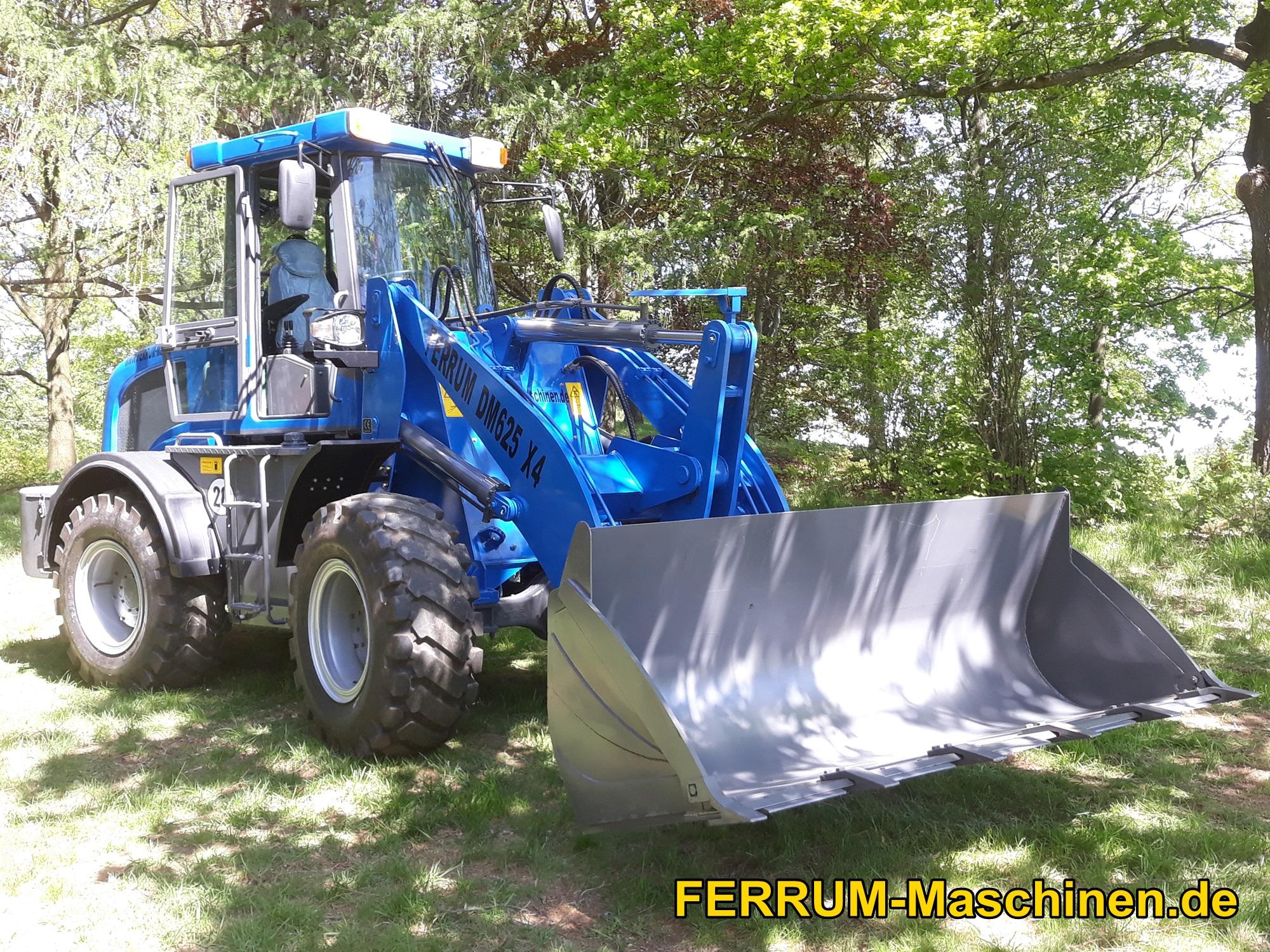 FERRUM DM 624 x4 in Blau im Wald