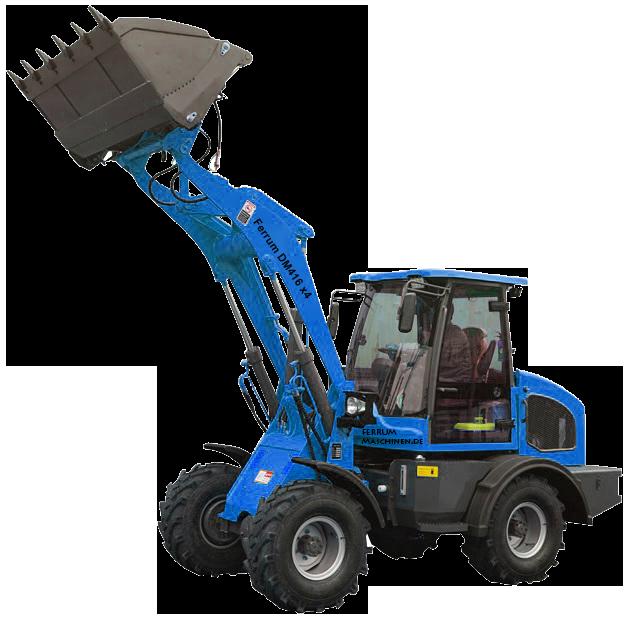 Radlader 1 7 Tonnen Hubkraft Dm416 X4 Zl16 X Radlader Angebot