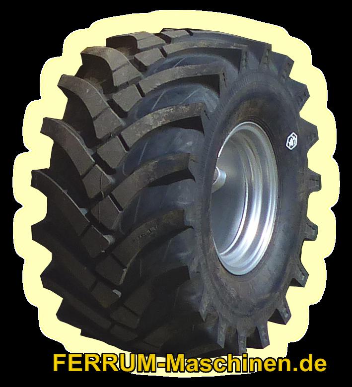 Radial Breitreifen für Radlader FERRUM DM522 x4 & DM416 x4